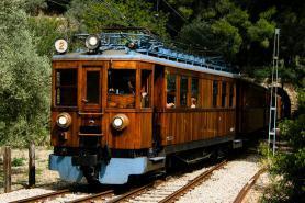 Nostalgická železnice kolem Bunyoly, Mallorca