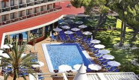 Mallorca a hotel Obelisco s bazénem