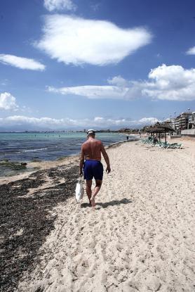 Pláž Platja de Palma, Mallorka