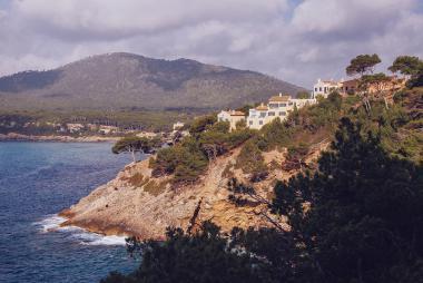 Costa dels Pins a pobřeží Canyamelu