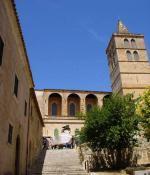 Sineu a farní kostel Mare de Deú dels Ángels