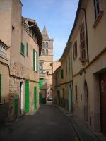Ostrov mallorca a městečko Sineu - jedna z ulic